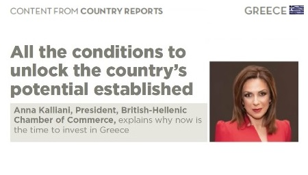 Interview of the Greek President of the BHCC in NEWSWEEK Magazine | Report on Greece | Davos Edition