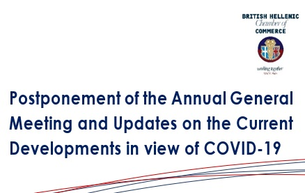 BHCC | Postponement of the Annual General Meeting and Updates on Current Developments in view of COVID-19